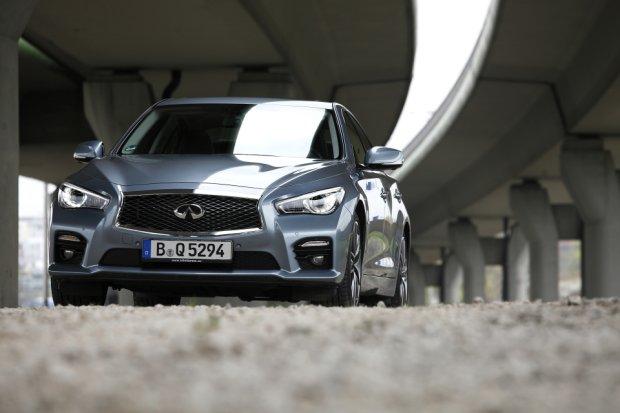Infiniti Q50S Hybrid AWD | Test | Podgry�� Niemc�w
