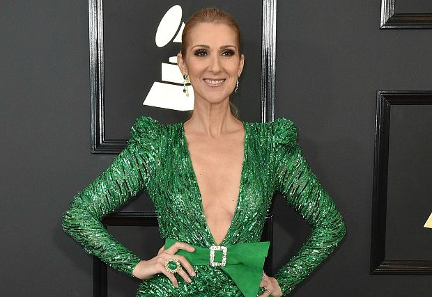 Celine Dion podczas Grammy przyćmiła inne gwiazdy. Zobaczcie, jak pięknie wyglądała w zielonej sukni od Zuhaira Murada.