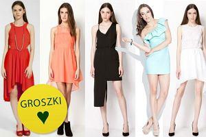Asymetryczne sukienki - czy pasuj� do twojej figury?