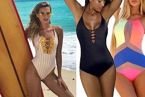 Kolaż, kostiumy jednoczęściowe/Materiały partnera/www.instagram.com/sandrakubicka/