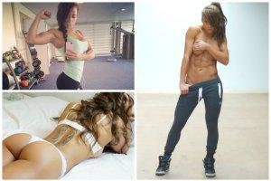 ��czy mod� na fitness z trendem na ogromne po�ladki. Kim jest Sandra Prikker, nowa gwiazda internetu?