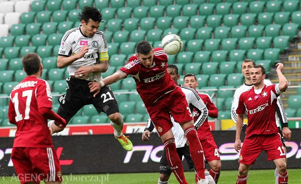 Mecz na szczycie naszej Ekstraklasy. Pierwsza Wis�a gra z trzeci� Legi�