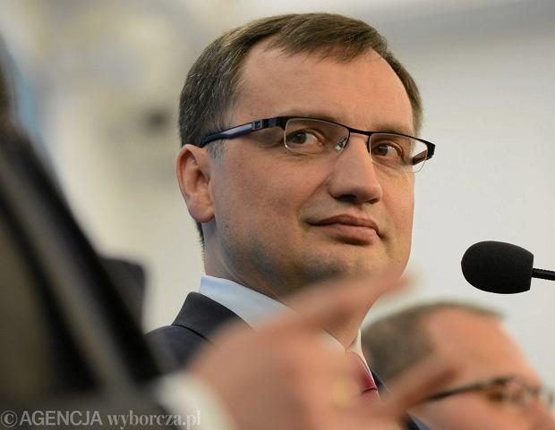 Zbigniew Ziobro próbował własnej gry, nie konsultując z naczelnikiem