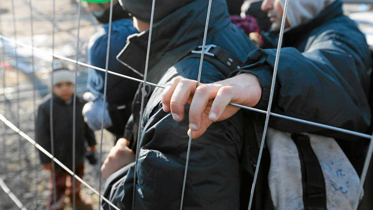 Uchodźcy na granicy słoweńsko-austriackiej