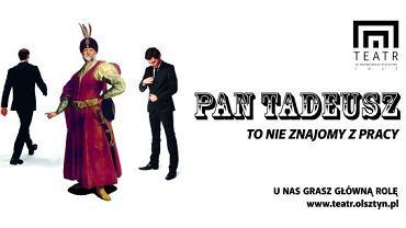 Plakat promujący Teatr im. Stefana Jaracza w Olsztynie