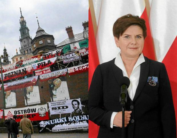 Beata Szyd�o pisze list do kibic�w