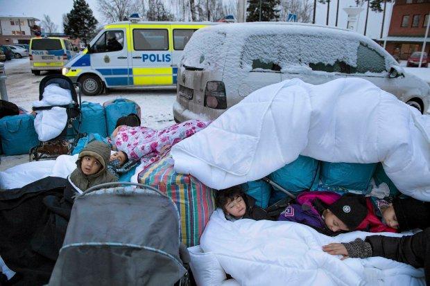 Uchod�cy w Szwecji