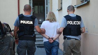 Aresztowanie 63-latki, która handlowała dopalaczami
