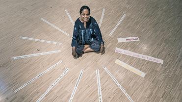 Indyjska artystka Mithu Sen w Galerii Arsenał