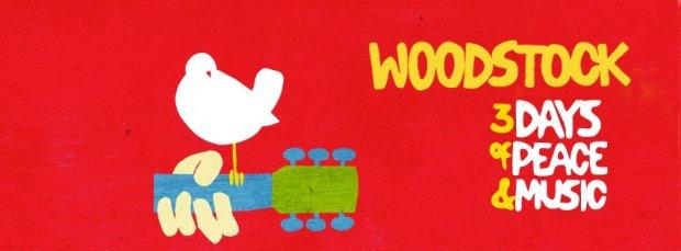 Jeden z plakatów festiwalu Woodstock