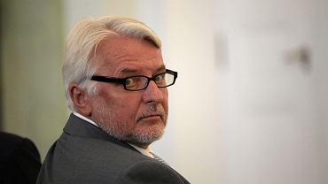 Minister Waszczykowski ponownie wypowiedział się o czarnym proteście kobiet
