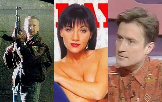 Bogusław Linda, Shazza, Jacek Kawalec