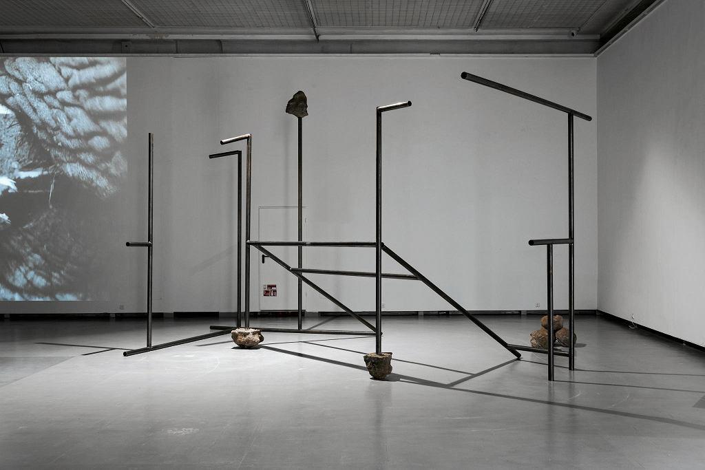 Ewa Axelrad, Dziel i rządź, 2018, instalacja, wystawa 'Czekając na kolejne nadejście' / ANDREJ VASILENKO