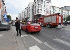 Wrocław. Ładunek wybuchowy w autobusie. Eksplodował i ranił kobietę [WIDEO, ZDJĘCIA]