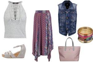 Jeansowa kamizelka na 3 sposoby - zobacz modne zestawienia