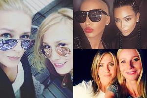 Aneta Zaj�c i Sylwia Juszczak, Kim Kardashian i Amber Rose, Jennifer Aniston i Gwyneth Paltrow