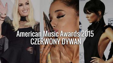 American Music Awards 2015. Gwiazdy na czerwonym dywanie!