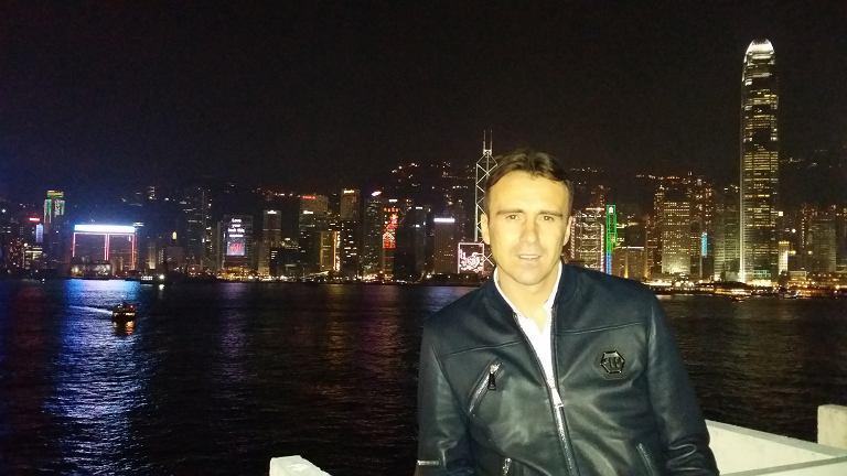 Marek Zając w Chinach