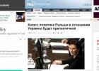 """Zagraniczne media o expose Kopacz: """"Pragmatyczna wobec Ukrainy"""", """"chce zwiększenia militarnej obecności USA"""""""