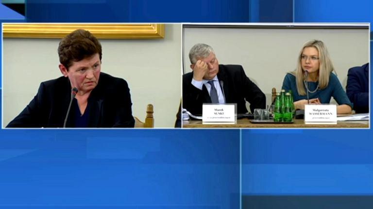 Przesłuchanie Danuty Jacuk-Plichty