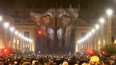 We wtorek na fasadzie bazyliki św. Piotra w Watykanie wyświetlone zostały animacje pokazujące gatunki zagrożone wyginięciem
