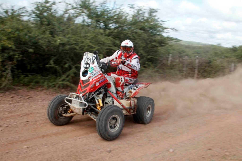 Rafal Sonik na 12. etapie Rajdu Dakar