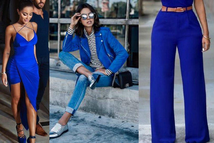 16e7f50aefd33 Kobaltowe ubrania hitem wiosny - te stylizacje to must have sezonu