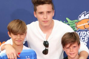 Romeo, Brooklyn i Cruz Beckham