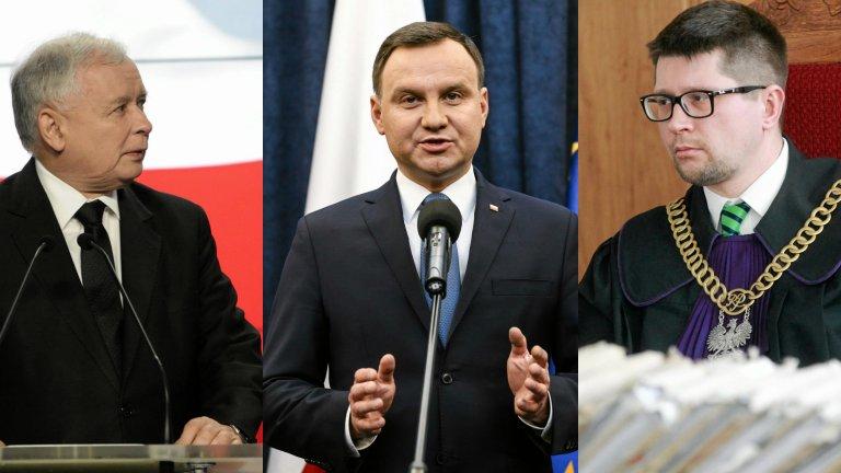 Jarosław Kaczyński | Andrzej Duda | Wojciech Łączewski