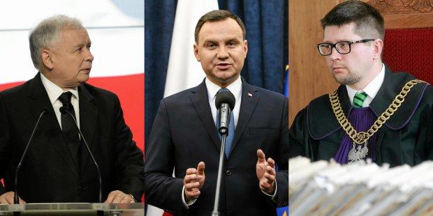 Jaros�aw Kaczy�ski | Andrzej Duda | Wojciech ��czewski