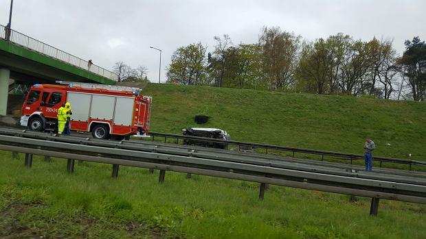 Karambol na autostradzie A2. Na dwóch nitkach! Ruch w stronę Warszawy już odblokowany