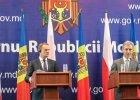 Tusk do premiera Mo�dawii: Nikt was nie zmusi do integracji z Uni�, ale UE op�aca si� ka�demu obywatelowi