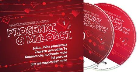 Najpi�kniejsze polskie piosenki o mi�o�ci na dw�ch p�ytach CD