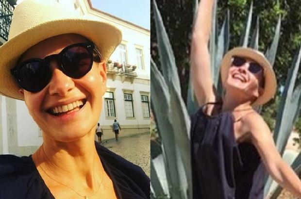 Małgorzata Kożuchowska pochwaliła się na Instagramie zdjęciem w bikini. Aktorka ma perfekcyjną figurę.
