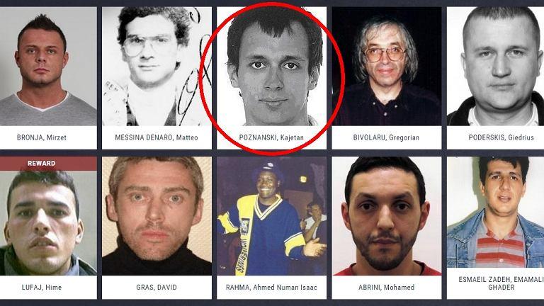 Kajetan P. na liście najbardziej poszukiwanych przestępców w Europie.