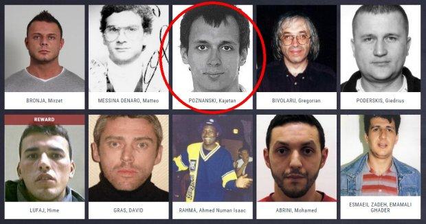 Kajetan P. na li�cie najbardziej poszukiwanych przest�pc�w w Europie.