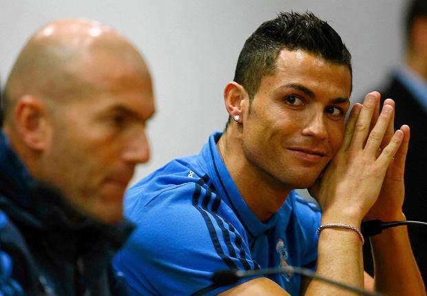 Zinedine Zidane i Cristiano Ronaldo