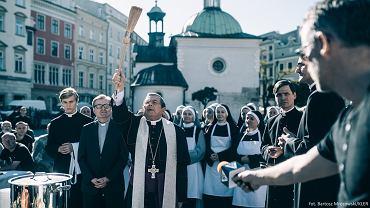 Kadr z filmu Wojciecha Smarzowskiego 'Kler'