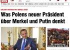 """Duda dla tabloidu """"Bild"""": Za Kaczyńskich stosunki polsko-niemieckie były lepsze, niż się opowiadało"""