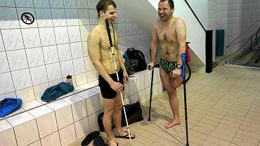 Wojciech Makowski, student zarządzania na UW, i Przemysław Pełka, dziennikarz sportowy Canal+