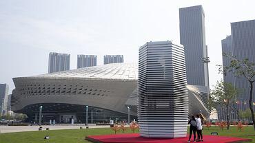 Wieża antysmogowa w Pekinie, Chiny