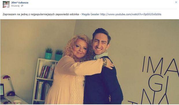 Magda Gessler, �ukasz Jakóbiak