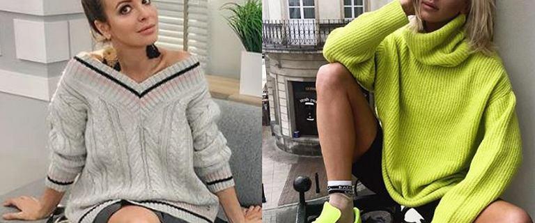 Modne swetry damskie, które kupicie za mniej niż 150 zł. Mocne kolory w stylu Maff to hit sezonu!