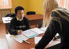 Ci�ki los Azjaty w polskiej szkole