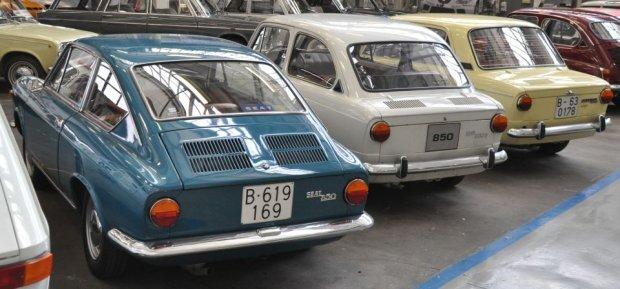 Seat 850 w trzech z czterech wersji nadwoziowych (fot. Marcin Lewandowski)