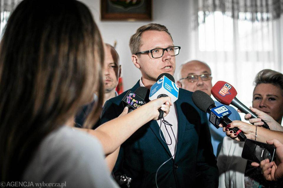 Lublin. Michał Krawczyk, radny PO