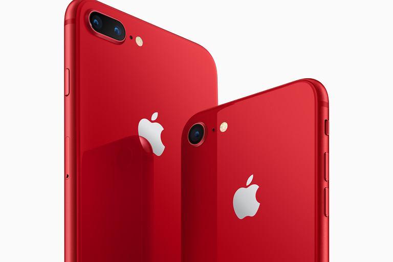 iPhone 8 i iPhone 8 Plus w wersji Product (RED)