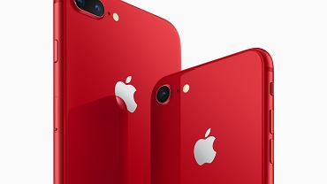iPhone 8 i iPhone 8 Plus w wersji Product (RED)
