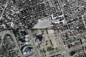 Tak zmieniła się Warszawa przez 80 lat. Porównaj zdjęcia lotnicze z 1935 i 2015 roku