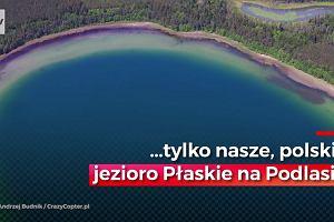 Wygląda jak koralowa wyspa na Pacyfiku, ale leży w Polsce. Zobacz cud Podlasia